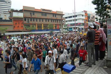 environmental protest in Malaysia
